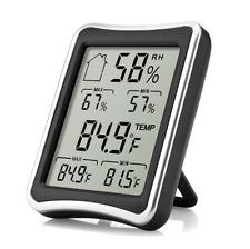 Indoor Hygrometer Thermometer Humidity Meter Temperature Gauge Digital Baby New