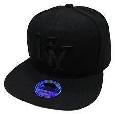 NEW YORK NY SNAPBACK CAP KAPPE BASECAP MÜTZE HIP HOP TRUCKER STYLE CAPPY BLACK
