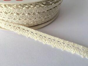 5mt of Dark Brown scalloped stretch lace edge trim 6cm width