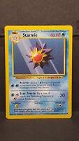 Starmie 64 Base Set Common Pokemon Card Near Mint