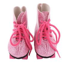 Glitter Doll Roller Skates For 18 Inch Our Generation American Girl Doll