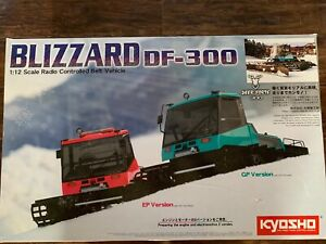 Brand New, Unassembled, Rare and Collectible Kyosho Nitro Blizzard (GP Version)