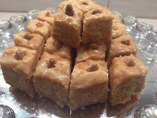 Organic Baklava with Almond & RAW Bee Honey! Unique Quality (~3LB) (40 Piece)