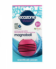 ECOZONE 2 in 1 Magnoball Anti-limescale Ball for Dishwashers and Washing Machine