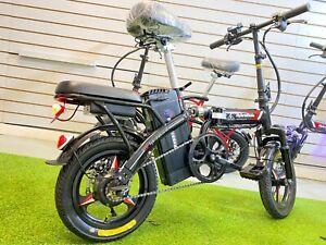 2020 Ebike Folding E Bicycle Twist & Go! - Adult Size - Unique 48V  HybridVelo