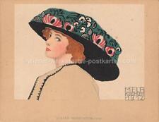 Wiener Werkstätte Werkstaette Tischkarte Nr.: 1662 Mela Koehler um 1910