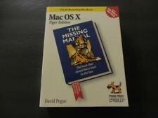 Mac OS X Tiger Edition sc David Pogue 2006                    ID:20185