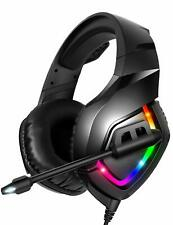 RUNMUS K1 Gaming Headset for PC, PS4, XBox One, and Nintendo Switch