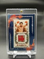 2011 Topps Allen and Ginter Relics #MPA Manny Pacquiao