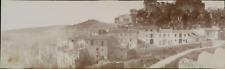 Espagne, Buñol, panorama de la ville, 1908, Vintage citrate print Vintage citrat