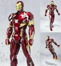 S.H. Figuarts SHF Iron Man Mark46 Tony Stark Action Figure Chirstmas Kid Gift
