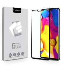 FOR [LG V40 ThinQ] PHONE | FULL COVERAGE TEMPERED GLASS SCREEN PROTECTOR GUARD
