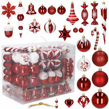 152/153 piezas bolas de Navidad punta del árbol bola de Navidad tipo hasta Ø 8 c...