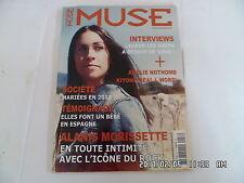 LA DIXIEME MUSE N°58 09/2012 ALANIS MORISSETTE THE L WORLD KIYOMI MCCLOSKEY  K34