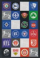 Match Attax 19/20 Bundesliga 2019/2020 P4 2. Bundesliga Club Logos Puzzle Karte