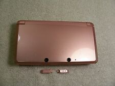 Nintendo 3DS  Housing Top,Bottom Cover Pink Shell Repair Parts Full Outside Set