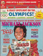 Michael Jackson CRACKED Humor BD Comics USA Magazine 1988