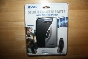 Stereo Cassette Player Jensen Audio SCR-68A With AM/FM Radio NEW IN PACKAGE