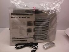 Portable Air Cleaner 120 VAC 4 Stage HEPA 27/49/78 CFM with Remote (E32S)