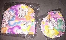 Bonnet Moufles neufs Disney Minnie Taille 0-6 mois Rose en coton