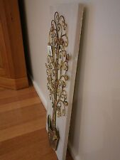 Brand new metal wall art. French provincial looking. Garden. Trees. Art. Birds