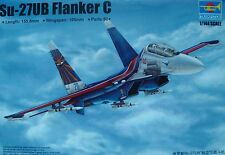 TRUMPETER® 03916  Russian Su-27UB Flanker C in 1:144