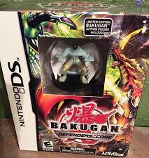 NINTENDO DS Game BAKUGAN Defenders of the Core W/ White Green Action Figure NEW