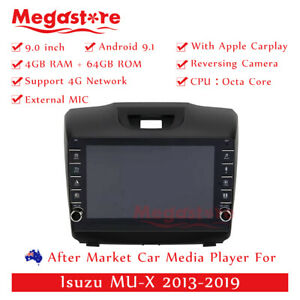 "9"" Octa Core Android 9.1 Car non dvd Media Player GPS For Isuzu MU-X 2013-2019"