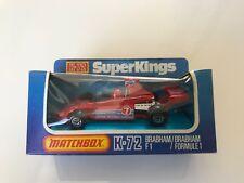 Matchbox Superkings K-72 Brabham F1 Racing Car - mint in box