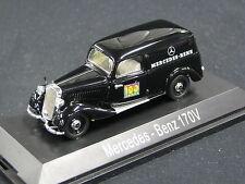 """Schuco Mercedes-Benz 170 V Kastenwagen 1:43 Schwarz """"Mercedes-Benz"""" (JS)"""