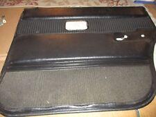 VOLVO RIGHT REAR (BLACK) DOOR PANEL, 240 TURBO