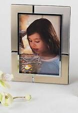 Cadre Photo moderne en aluminium OR / argent pour les 10x15cm