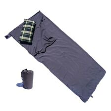 Sleeping Bag Liner for Travel Camping Hiking Outdoor Hostel, Stuff Sack Included