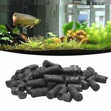 Activated Charcoal Carbon Pellets For Aquarium Fish Tank Water Filter Black 100g