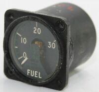 Fuel quantity gauge reading 0-3000 lb for RAF aircraft (GB7)