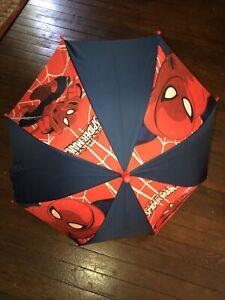 Ultimate Spiderman Umbrella Official Marvel Licensed Kids Childrens