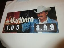 Marlboro Display, 2 Price Changing Areas(You Can Change With Finger