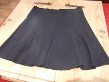 Papaya Knee Length Business Patternless Skirts for Women