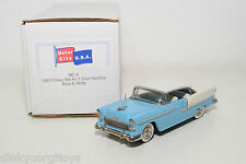 . U.S.A. MODELS MOTOR CITY MC-4 CHEVY CHEVROLET BEL AIR 2 DOOR HARDTOP MINTBOXED