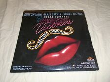 VICTOR VICTORIA EXTENDED PLAY LASERDISC