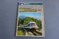 X276 NOCH Train maquette catalogue Ho N Z1987 112 pg 29,7*21 Deutsch modellbahn