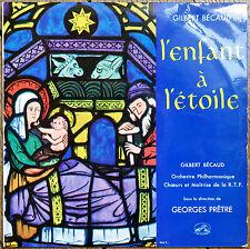 Gilbert BECAUD - L'enfant à l'étoile (Vinyle 25cm) VG+/VG-