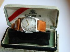 VINTAGE 1930'S ROLEX WINDSOR ART DECO CUSHION CASE WATCH IN ORIGINAL ROLEX BOX