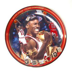 Michael Jordan Upper Deck 1997 NBA Championship Collector Plate #2788A