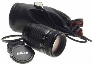 NIKKOR NIKON CAMERA ZOOM LENS 1:4-5.6  f=70-210mm AF EXCELLENT CONDITION CAPS