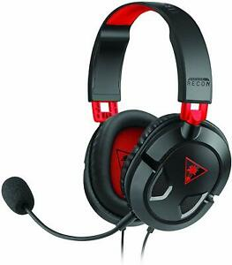 Turtle Beach Recon 50 Black Red Gaming Headset Switch PS4 Xbox One PC