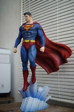 Superman 3D Printed Resin Statue Garage Kit