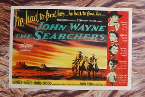 The Searchers  Lobby Card Movie Poster John Wayne #2