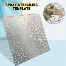 1/35 WWII German Armour Ambush Camouflage Leakage Spray Stenciling Template Hot