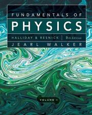 Fundamentals of Physics, Volume 1 Chapters 1 - 20